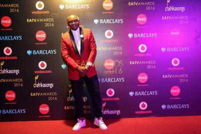 Dulla wa Planet Bongo kwenye Red Carpet