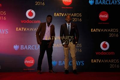 Wadau kwenye Red Carpet ya EATV AWARDS