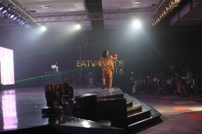 Barnaba on stage